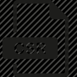 csr, file, format icon