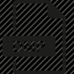 dmp, file, format icon