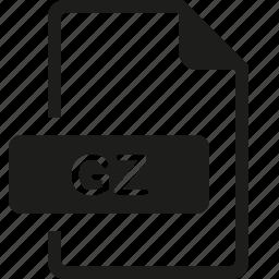 file, format, gz icon
