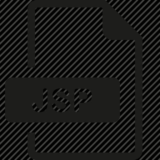 file, format, jsp icon