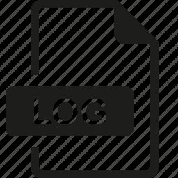 file, format, log icon
