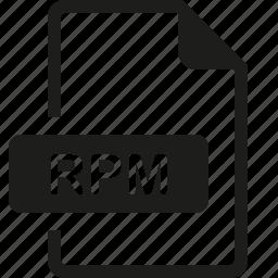 file, format, rpm icon