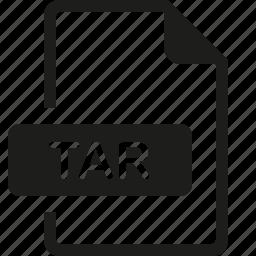 file, format, tar icon