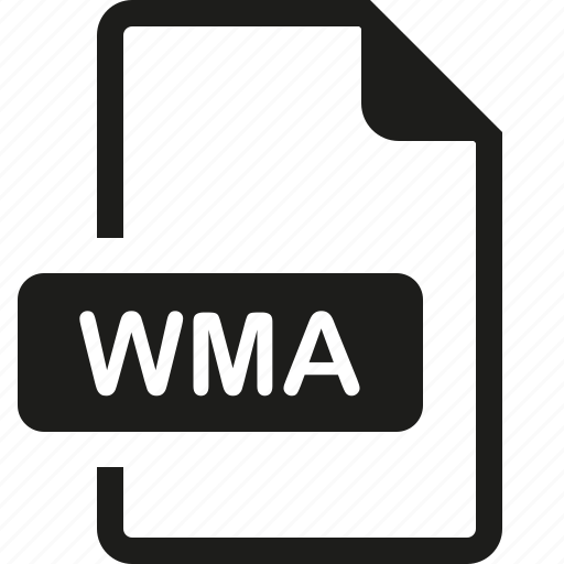 file, format, wma icon