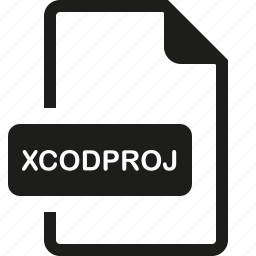 file, format, xcodeproj icon