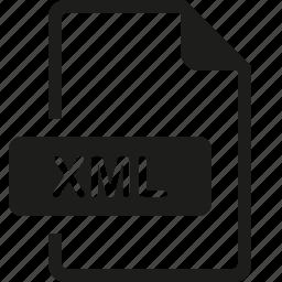 file, format, xml icon