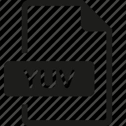 file, format, yuv icon