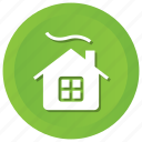 holiday, house, winter icon