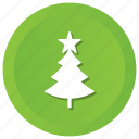 holiday, tree, winter icon