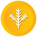 autumn, leaf, snow, snowflake, winter icon