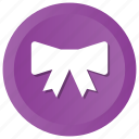 bow, clothes, hipster, tie icon