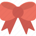 bow, bow tie, gift bow, ribbon bow, ribbon knot icon