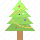 christmas celebration, christmas tree, decorative tree, fir tree, happy season
