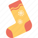 footwear, hosiery, sock, stocking, winter socks icon