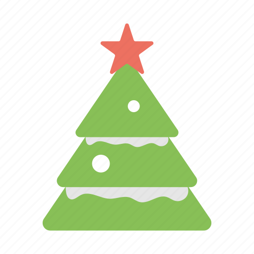christmas celebration, christmas tree, decorative tree, fir tree, happy season icon