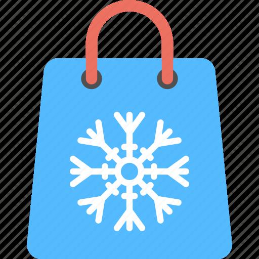 Christmas sale, christmas shopping, christmas shopping bag, winter sale, winter shopping bag icon - Download on Iconfinder