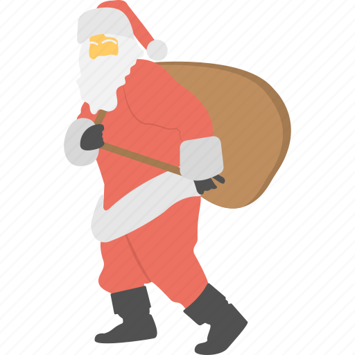Christmas celebration, happy season, santa claus icon - Download on Iconfinder