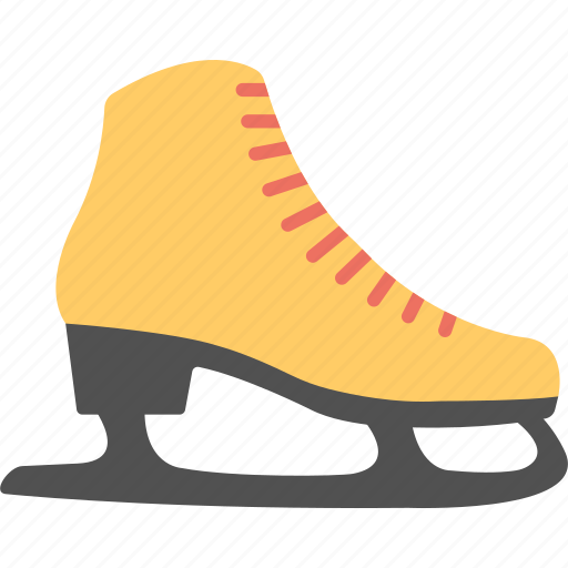 Christmas decoration, footwear, ice skates, skate shoes, winter gaming icon - Download on Iconfinder