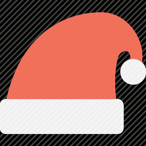 clothing, hat, santa claus, santa hat, winter icon