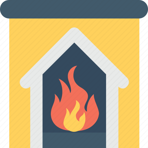 fireplace, heater, heating, pellet stove, room stove icon