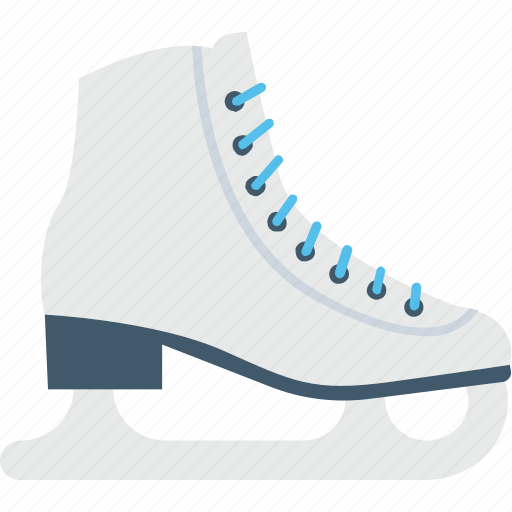 ice skates, skate boots, skating, sports, winter icon