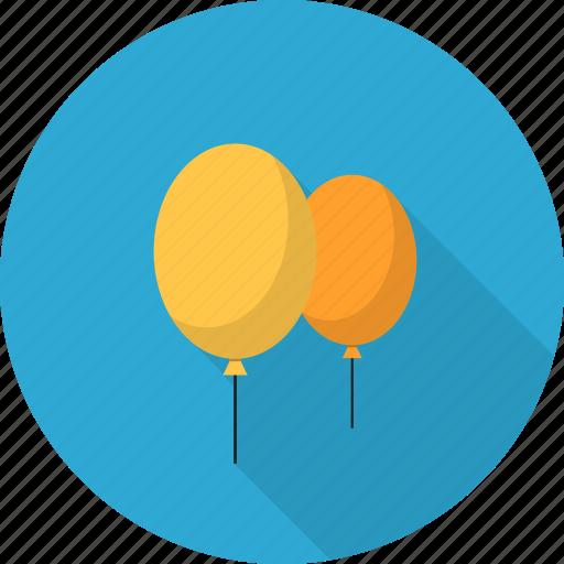 ballon, celebrate, christmas, decoration, party icon