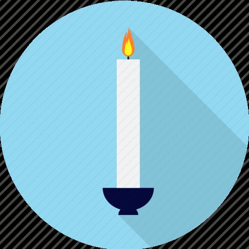 candle, candlelight, celebration, christmas, decoration, flame icon