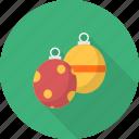 celebration, christmas, decoration, ornament, ribbon, tree icon