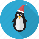 animal, bird, christmas, cute, penguin, polar icon