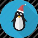 animal, bird, christmas, cute, penguin, polar