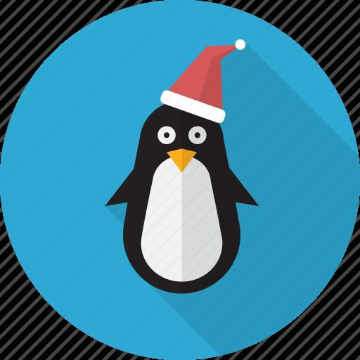 animal, bird, christmas, cute, penguin, polar icon