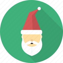 christmas, clause, deer, gift, hat, santa, winter icon