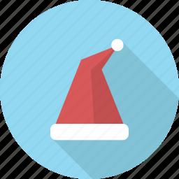 christmas, costume, hat, head, holiday, santa icon