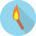 bright, burn, christmas, flame, heat, torch icon