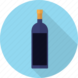 alcohol, bottle, christmas, drink, glass, wine icon