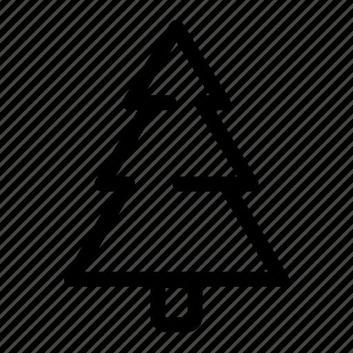 christmas, forest, nature, santa, tree, winter, xmas icon