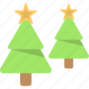 christmas trees, conifer trees, decorative spruce trees, fir trees, xmas trees