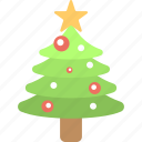 christmas celebration, christmas tree, decorative tree, fir tree, happy season