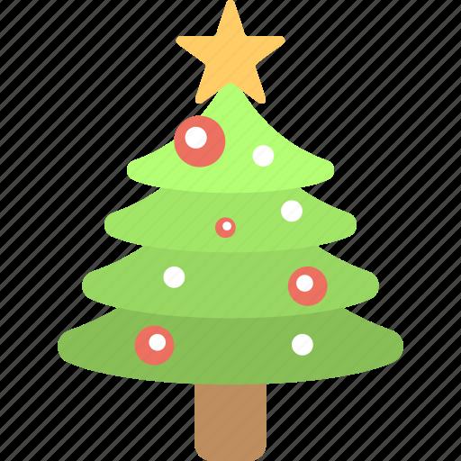 Christmas celebration, christmas tree, decorative tree, fir tree, happy season icon - Download on Iconfinder
