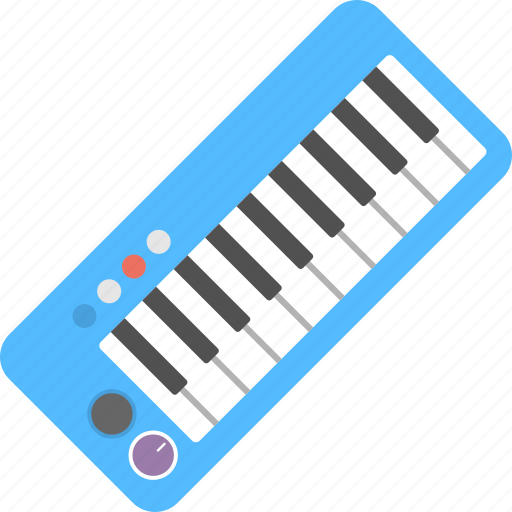 festival celebration, music party, musical instrument, piano, xylophone icon