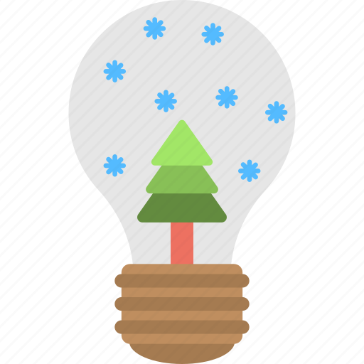 Christmas showpiece, snow dome, snow globe, snow storm, winter decoration icon - Download on Iconfinder