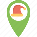 android app, christmas here, geolocation, santa clause search, santa tracker icon