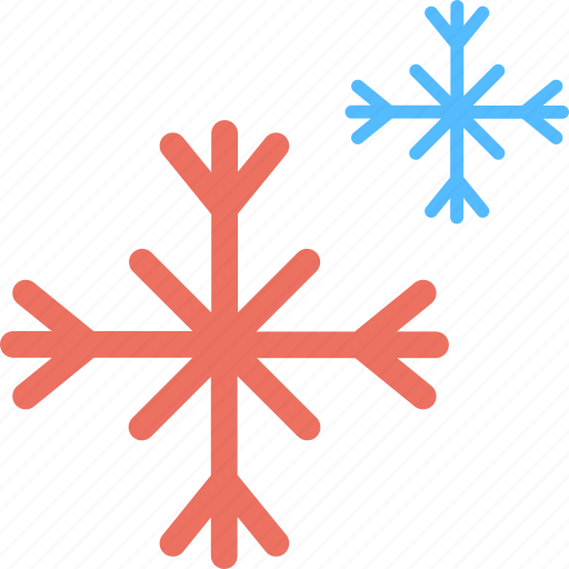 Christmas celebration, decorating object, frost crystal, snowflake, winter concept icon - Download on Iconfinder