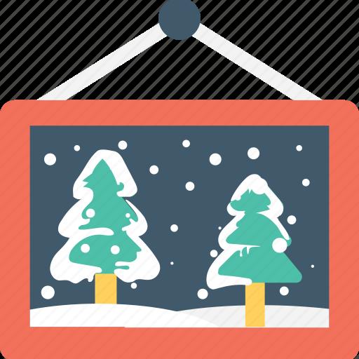christmas, decoration, landscape, scenery, xmas icon