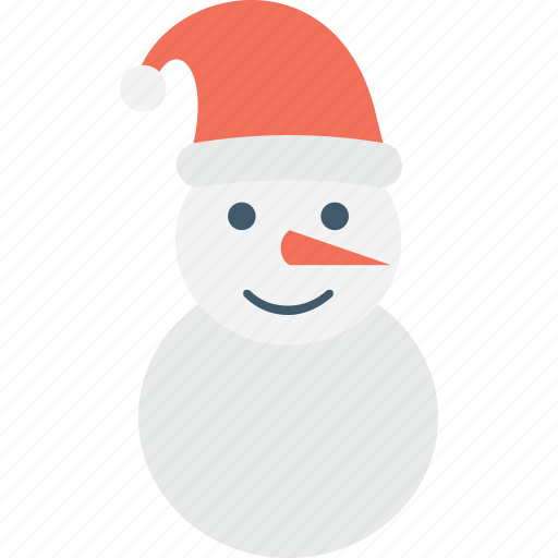 christmas, snowman, snowperson, winter, xmas icon