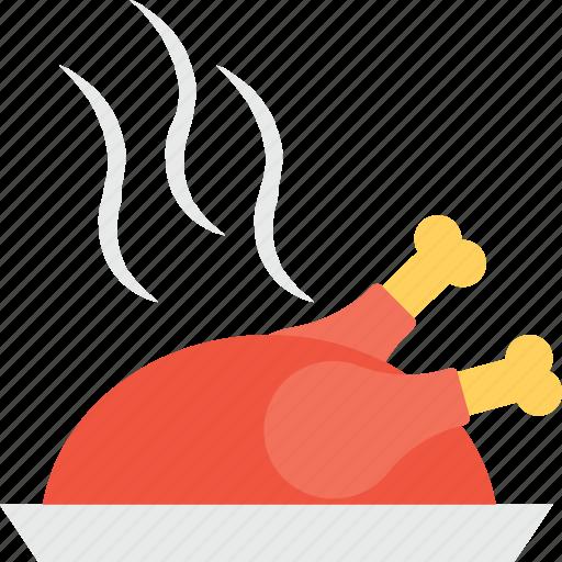 chicken, food, roast, roast chicken, turkey icon