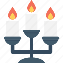 burning, candle holder, candles, decoration, flame icon