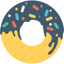 confectionery, donut, doughnut, food, sweet icon