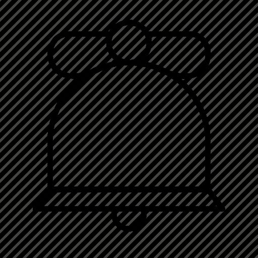Bell, celebration, christmas, decoration, holiday, santa, xmas icon - Download on Iconfinder