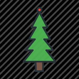 celebration, christmas, decoration, light, nature, tree, xmas icon